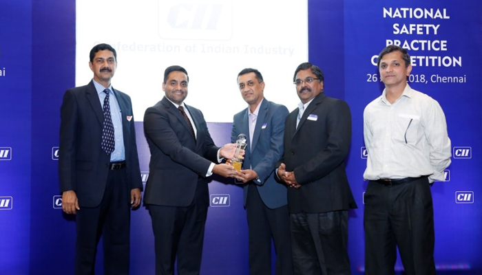 Tata Coffee wins CII award on workplace safety - Tata Coffee